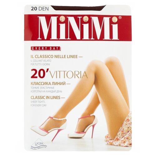 Колготки MiNiMi Vittoria 20 den, размер 5-XL, cappuccino (коричневый) колготки minimi vittoria 20 den размер 5 xl cappuccino коричневый