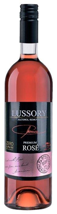 Вино безалкогольное Lussory Premium розовое полусухое Rose 0.75 л