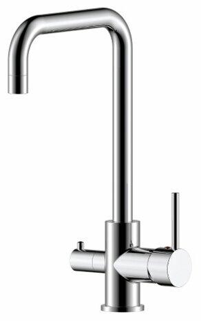 Однорычажный смеситель для кухни (мойки) Rossinka Silvermix Z35-29