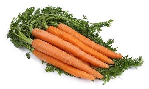 Морковь с ботвой 0,5кг