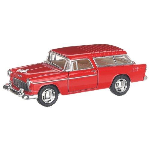 Купить Детская инерционная металлическая машинка с открывающимися дверями, модель Chevrolet Nomad hardtop, красный, Serinity Toys, Машинки и техника