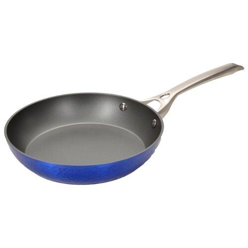 Сковорода REGENT inox Azzuro 93-AL-AZ-1-28 28 см, синий сковорода regent tesoro 93 al te 1 28 28 см черный