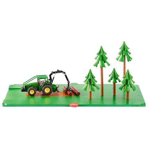цена на Комбайн Siku Лесное хозяйство (5605) зеленый