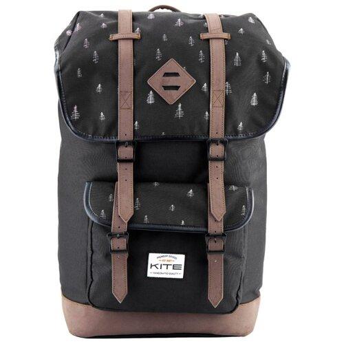 Рюкзак Kite Urban K18-899L-2 23 черный/коричневыйРюкзаки<br>