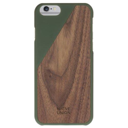 Купить Чехол Native Union CLIC WOODEN для Apple iPhone 6/iPhone 6S olive