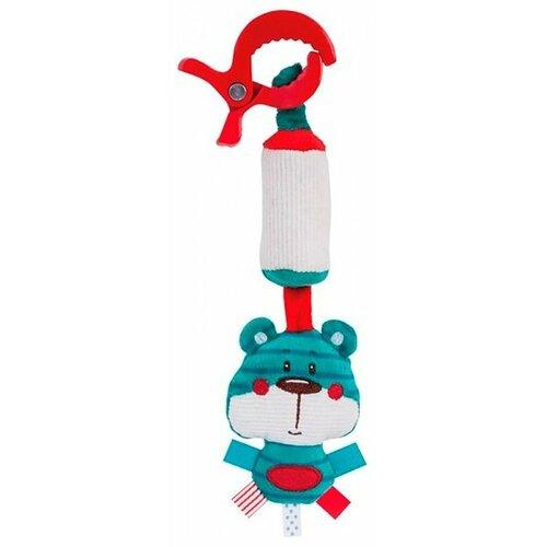Купить Подвесная игрушка Canpol Babies Лесные друзья (68/043) Медвежонок голубой, Подвески