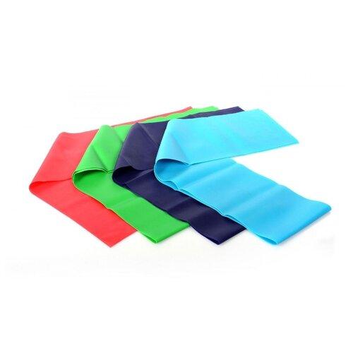 Эспандер лента BRADEX SF 0300 красный/фиолетовый/зеленый/синийЭспандеры и кистевые тренажеры<br>