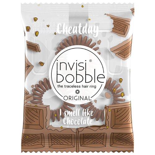 Резинка Invisibobble ORIGINAL CheatDay 3 шт. Crazy For ChocolateРезинки, ободки, повязки<br>