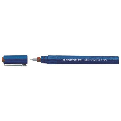 Купить Staedtler Рапидограф Mars Matic 700 0.5 мм (700 M05) синий, Чертежные инструменты