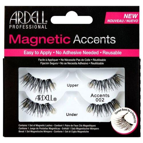 Ardell магнитные накладные ресницы Magnetic Accents 002 черный