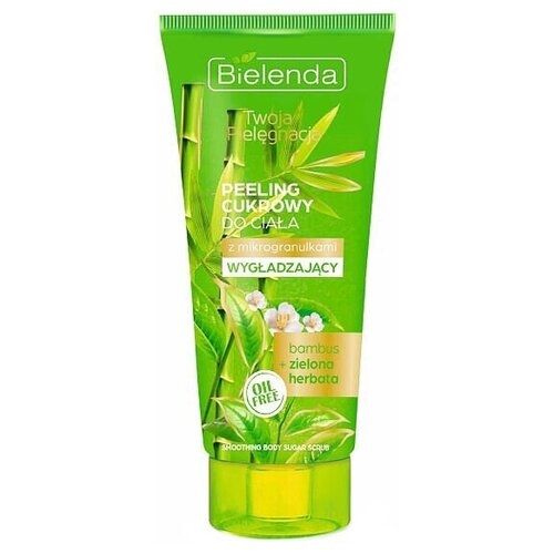 Bielenda Personal care Сахарный скраб для тела Бамбук и зеленый чай, 200 г