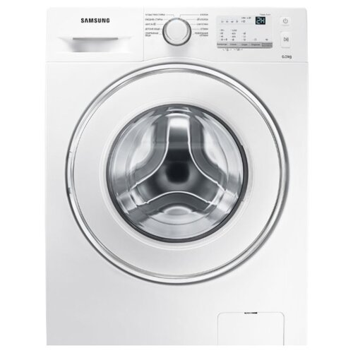 Фото - Стиральная машина Samsung WW60J3097LW стиральная машина samsung ww80r42lhfw