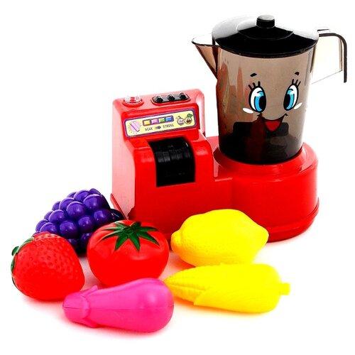 Набор Fudaer FDE515 красный/черный/желтый/розовый/фиолетовыйДетские кухни и бытовая техника<br>