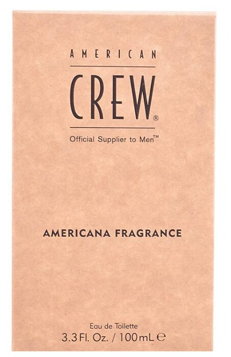 Туалетная вода American Crew Americana Fragrance