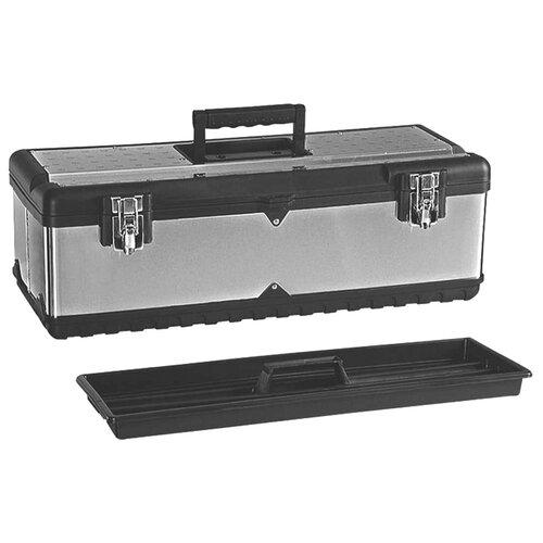 цена на Ящик ZiPOWER PM4287 66x28x22.5 см черный/серый