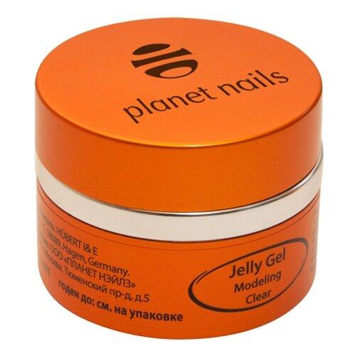 Гель-желе гель planet nails Modeling Clear Jelly Gel конструирующий, 15 г прозрачный дерматикс гель 15 г