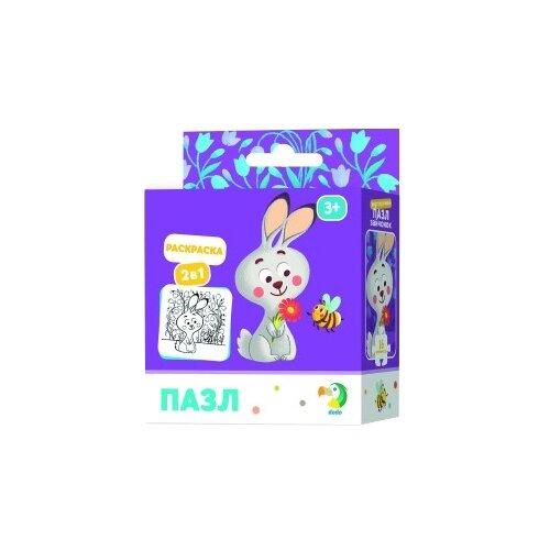 Купить Пазл Dodo Зайчонок 2 в 1 (R300121), 16 дет., Пазлы