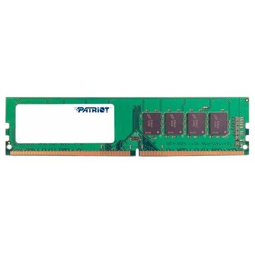 Оперативная память Patriot Memory Signature DDR4 2666 (PC 21300) DIMM 288 pin, 4 ГБ 1 шт. 1.2 В, CL 19, PSD44G266682
