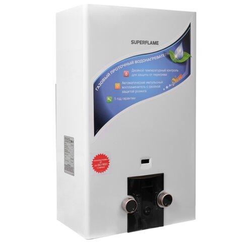 Проточный газовый водонагреватель Superflame SF0320 10L