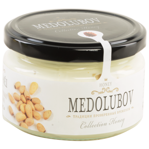 Крем-мед Medolubov с кедровым орехом 250 мл