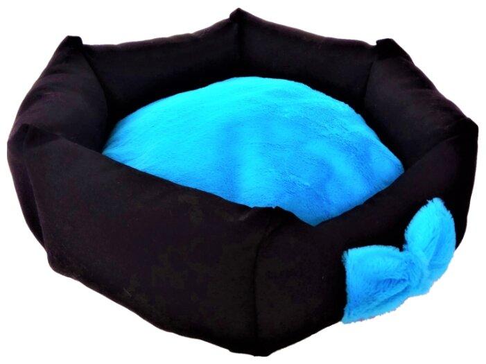 Лежак для кошек CLP Лежанка круглая кошки (бязь) (45х45х12см/35х30х5см)