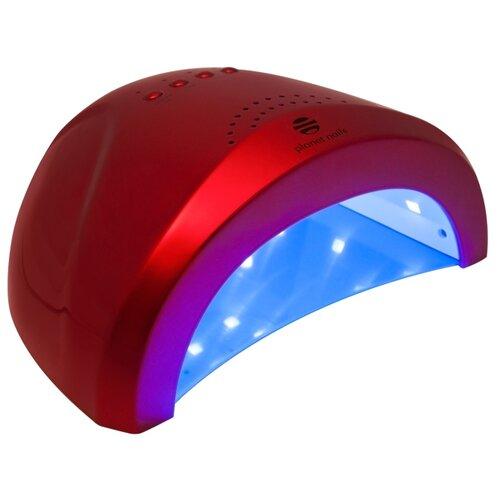 Лампа LED с UV-спектром planet nails Magnetic, 48 Вт бордоваяЛампы для сушки<br>