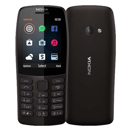 Купить Телефон Nokia 210 черный