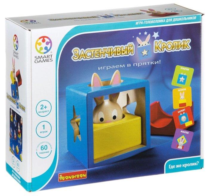 Головоломка BONDIBON Smart Games Застенчивый Кролик (BB0947)
