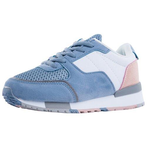 Кроссовки КОТОФЕЙ размер 37, голубой/розовый