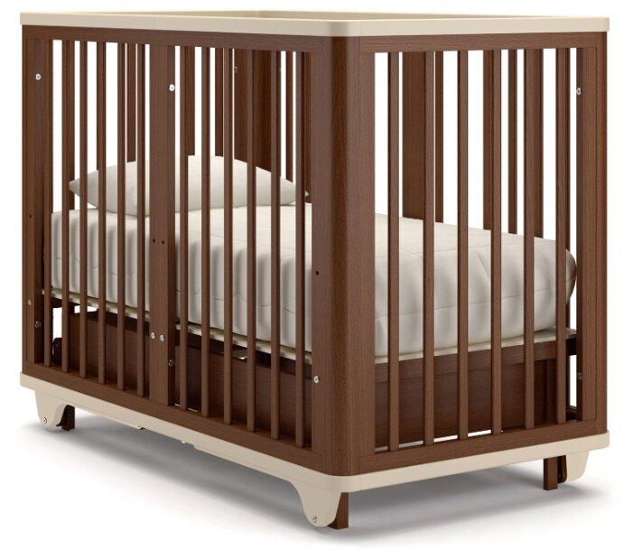 Кроватка Nuovita Ferara (маятник продольный, трансформер)