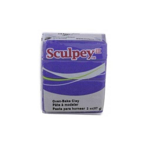 Купить Полимерная глина Sculpey III 513 (лиловый), 57г, Глина