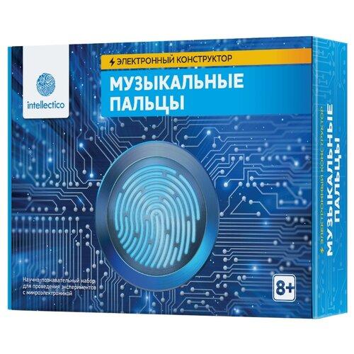Набор Intellectico Электронный конструктор. Музыкальные пальцы (1007) набор для творчества intellectico мерцающий маникюр 26548