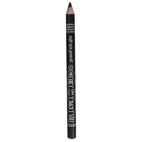 STILL Мягкий карандаш для век On Top, оттенок 363 угольно-серыйКонтур для глаз<br>