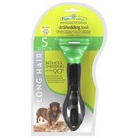 FURminator фурминатор для длинношерстных собак маленьких пород (4 см)