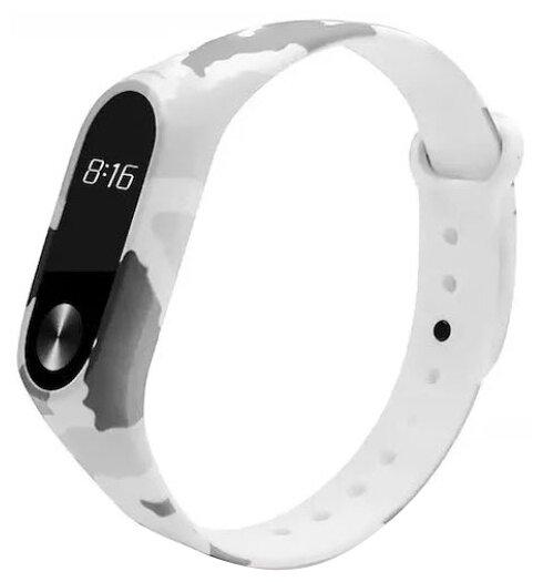 Karmaso Ремешок для Xiaomi Mi Band 2 белый камуфляж
