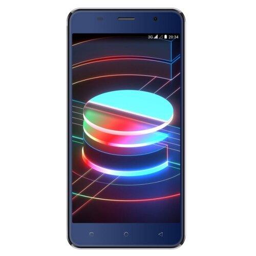 Смартфон DIGMA LINX X1 3G темно-синий смартфон
