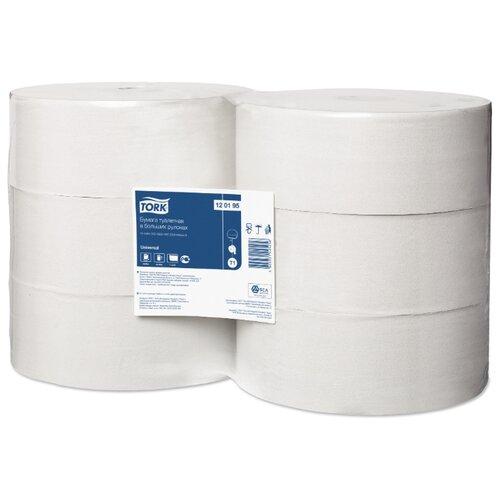 Туалетная бумага TORK Universal 120195 6 рул. туалетная бумага tork universal 120195 1 рул