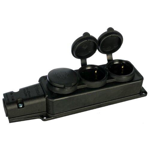 Колодка Bemis BK1-1402-2613/3613 16 А черный колодка bemis bk1 1402 2613 3613 16 а черный