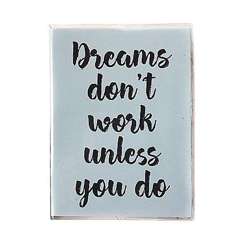 Купить Ежедневник Sammy ICON Dreams Don t Work Mini недатированный, 144 листов, мятный, Ежедневники, записные книжки