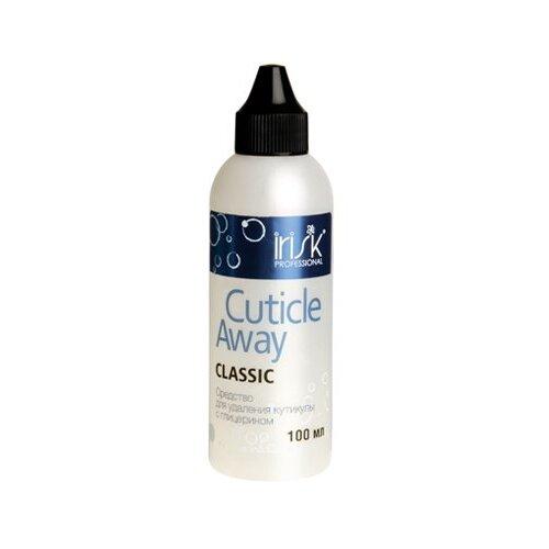 Средство Cuticle Away для удаления кутикулы с глицерином (носик) Irisk Professional, 100 мл