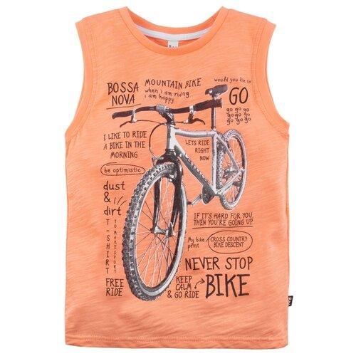 Купить Майка Bossa Nova размер 128, оранжевый, Футболки и майки