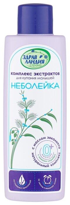"""Купить Страна Здравландия Комплекс экстрактов для купания """"Неболейка"""" 250 мл по низкой цене с доставкой из Яндекс.Маркета (бывший Беру)"""