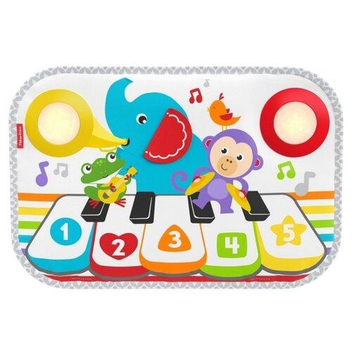 Интерактивная развивающая игрушка Fisher-Price Музыкальный коврик для кроватки с технологией Smart Stages mattel развивающая игрушка fisher price слоник с шариками