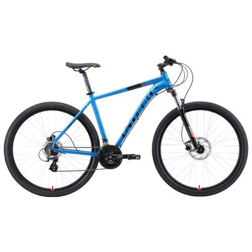 Горный (MTB) велосипед STARK Router 29.3 HD (2019) голубой/черный/оранжевый 22