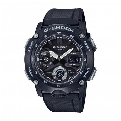 цена Наручные часы CASIO GA-2000S-1A онлайн в 2017 году