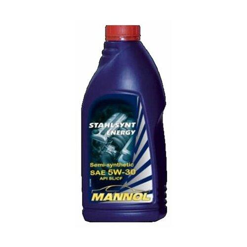 Фото - Полусинтетическое моторное масло Mannol Stahlsynt Energy 5W-30 1 л минеральное моторное масло mannol outboard universal 1 л