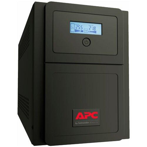 Интерактивный ИБП APC by Schneider Electric Easy UPS SMV1000CAI интерактивный ибп apc by schneider electric easy ups bv800i
