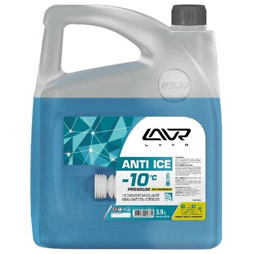 Жидкость для стеклоомывателя Lavr LN1312, -10°C, 3.9 л