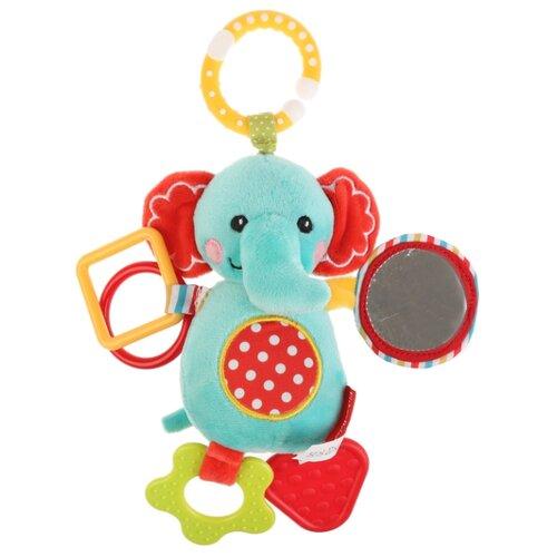 цена Подвесная игрушка Fisher-Price Слон (GH62805) голубой/желтый онлайн в 2017 году