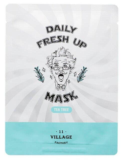 Village 11 Factory Тканевая маска Daily Fresh Up Mask Tea Tree